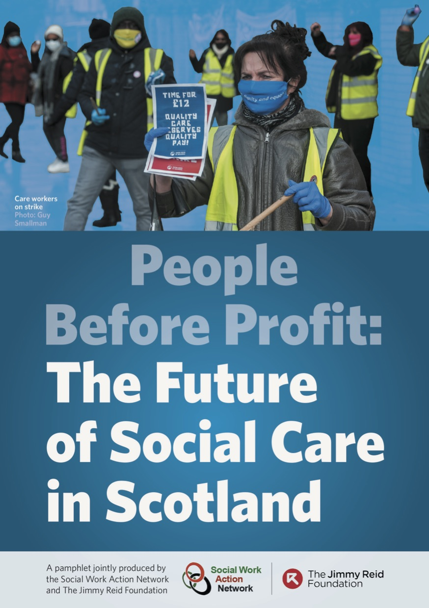 Pamphlet Launch: People Before Profit: The future of social care in Scotland