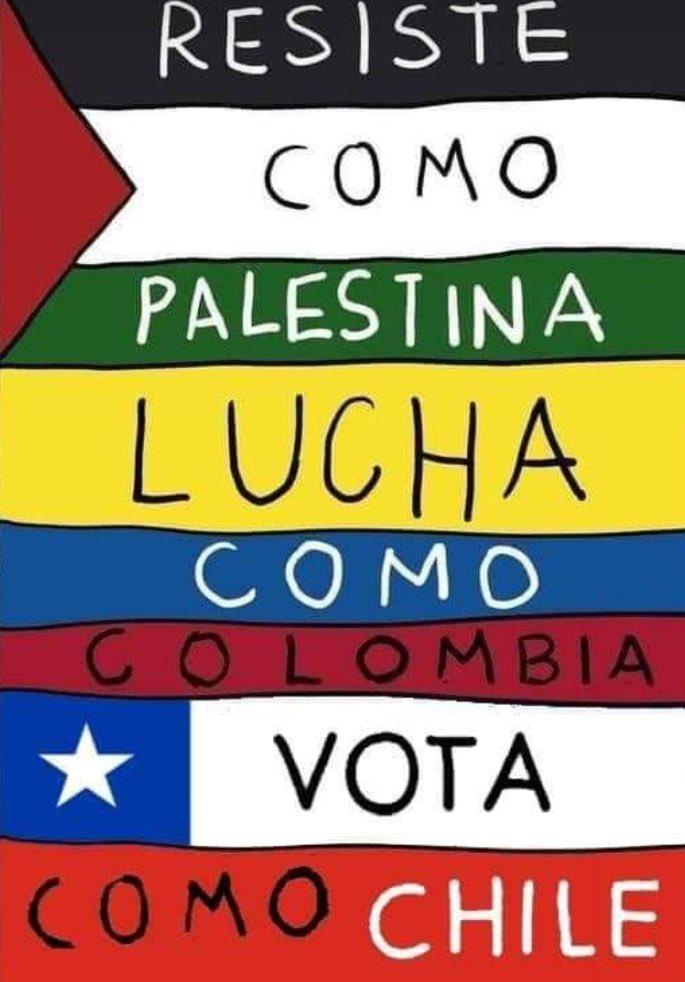 Solidarity to Colombian Protestors